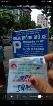 Công ty Đồng Xuân thu phí trông giữ xe trái quy định