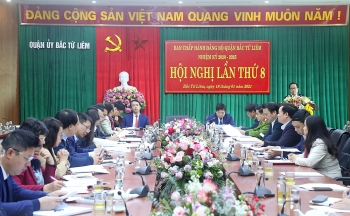 Đảng bộ quận Bắc Từ Liêm tổ chức Hội nghị lần thứ 8