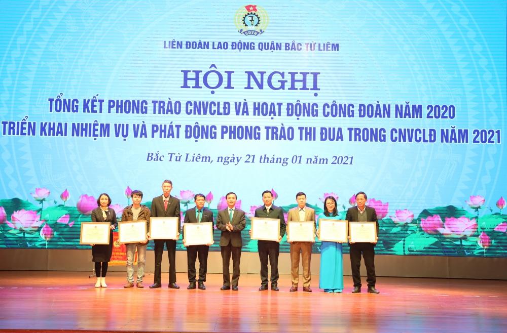 Liên đoàn Lao động quận Bắc Từ Liêm: Một năm với nhiều thành tích nổi bật