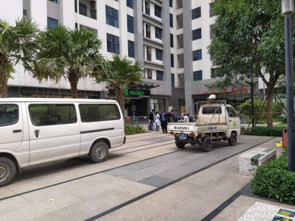 Phong tỏa tòa Goldmark City vì có người Hàn Quốc tử vong