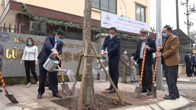 Huyện Mỹ Đức phấn đấu trồng mới 17.021 cây xanh