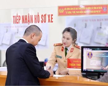 Thay đổi địa điểm đăng ký xe của 4 quận nội thành Hà Nội