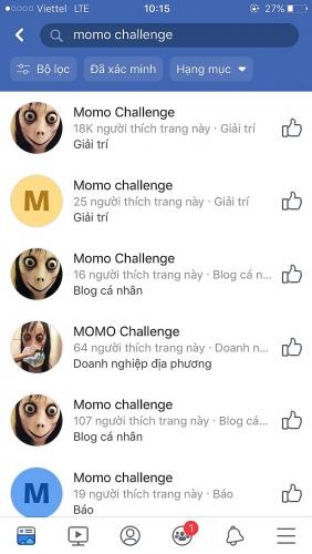 Cần cảnh giác với trào lưu 'thử thách cùng Momo'