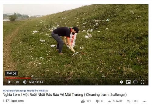 """Giới trẻ khắp thế giới hào hứng tham gia """"Thử thách dọn rác"""""""
