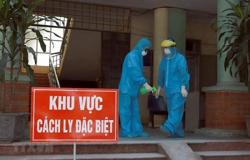 Lấy mẫu xét nghiệm virus SARS-CoV-2 cho các đơn vị quân đội làm việc tại khu cách ly