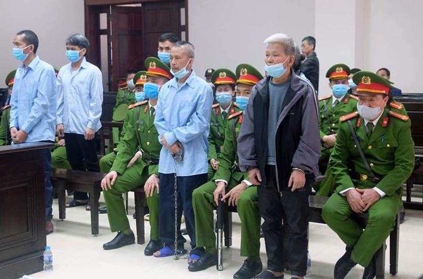 Y án sơ thẩm đối với các bị cáo trong vụ án Đồng Tâm