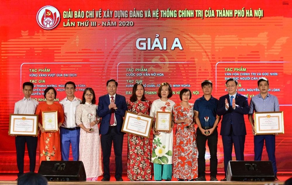Tăng cơ cấu giải thưởng Giải Búa liềm vàng 2021