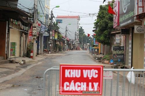 Cách ly xã hội toàn thị trấn Yên Lạc, Vĩnh Phúc trong vòng 15 ngày