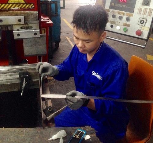 Công nhân Trương Văn Nam: Kiên trì là bí quyết để trở thành thợ giỏi