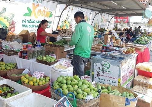 Xoài và nông sản sạch Sơn La chinh phục người dân Thủ đô