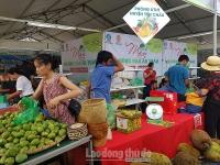 Mang mận và nông sản sạch Sơn La đến với người dân Hà Nội