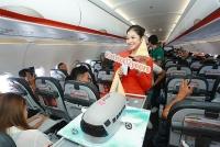 Jetstar Pacific tri ân khách hành bằng màn nhảy an toàn bay trên không