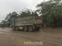 Huyện Gia Lâm: Tăng cường xử lý xe quá khổ, quá tải
