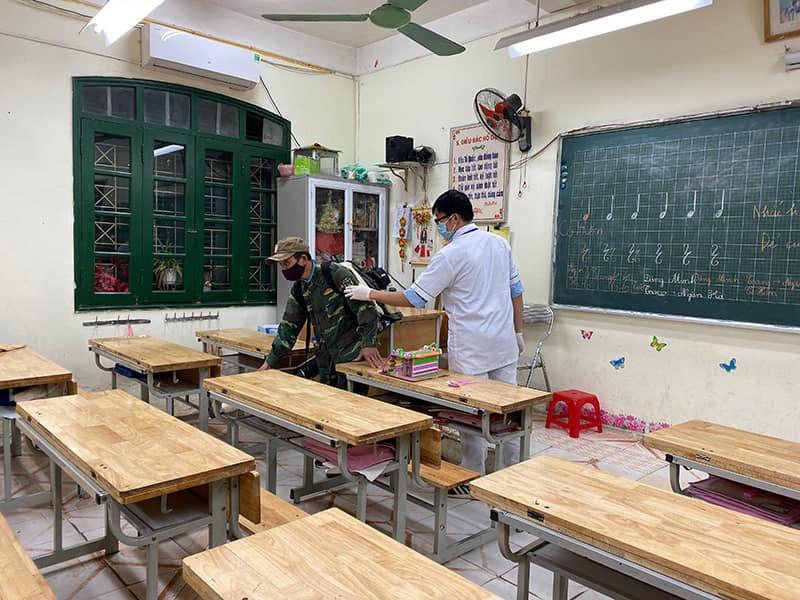 Quận Đống Đa: Đảm bảo an toàn cho học sinh quay lại trường học
