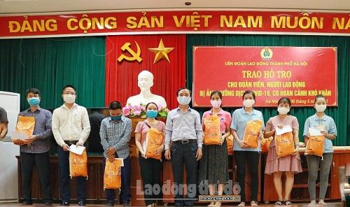 Công đoàn Thủ đô đồng hành cùng người lao động vượt qua khó khăn