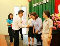 Liên đoàn Lao động quận Bắc Từ Liêm: Sát cánh cùng người lao động vượt khó