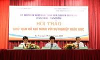 Vận dụng, phát huy tư tưởng Hồ Chí Minh trong sự nghiệp giáo dục