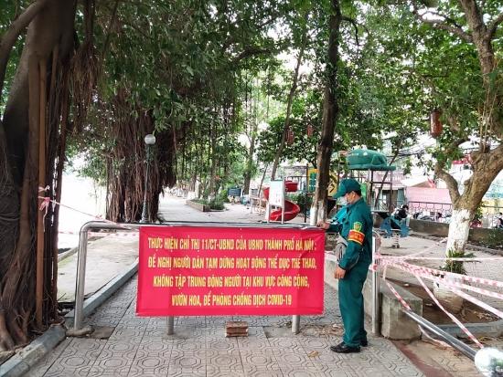 Để Hà Nội trở thành pháo đài chống dịch