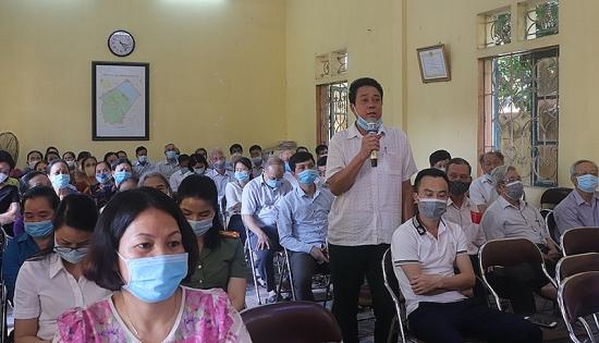 Truyền tải tâm tư, nguyện vọng của người dân tới Hội đồng nhân dân quận