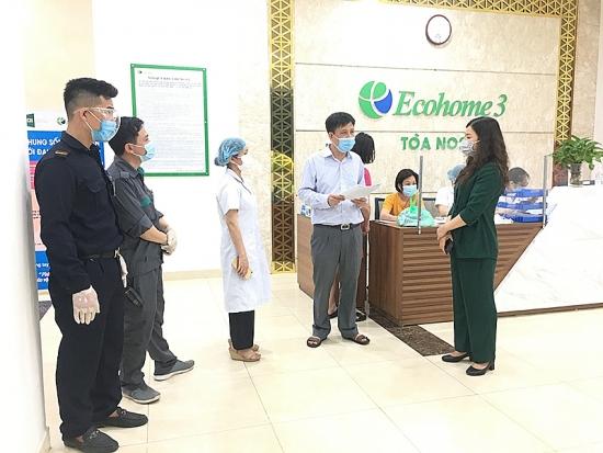 Phong tỏa tòa NO2 chung cư Ecohome 3 nơi có nhân viên Bệnh viện Phổi Trung ương nhiễm Covid-19