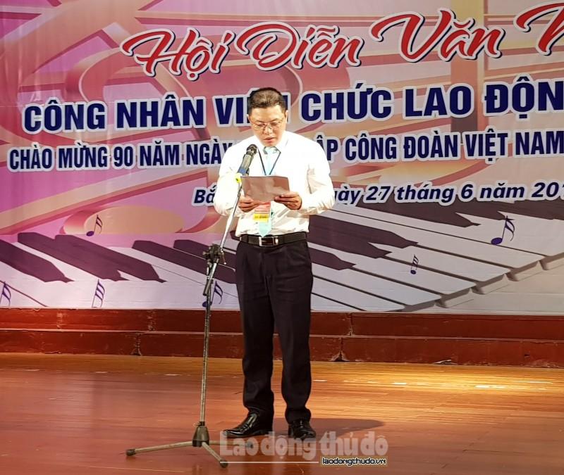 tung bung hoi dien van nghe cong nhan vien chuc lao dong cum thi dua so 2