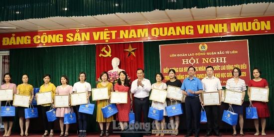 Liên đoàn Lao động quận Bắc Từ Liêm: Tôn vinh giá trị gia đình