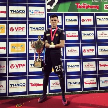 Thủ môn Phạm Văn Cường (Quảng nam FC): Đội tuyển Việt Nam  tự tin trước những giải đấu lớn