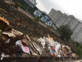 Bờ mương đường Mạc Thái Tổ: Nguy cơ trở thành bãi rác tự phát