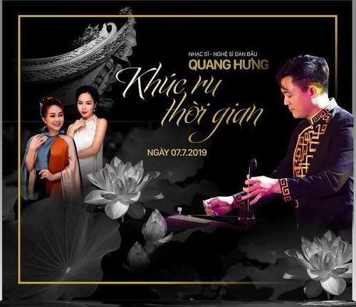 """Đêm nhạc """"Khúc  ru thời gian"""": Góp phần hồi sinh nền âm nhạc Việt Nam truyền thống"""