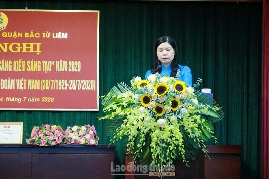 Quận Bắc Từ Liêm kỷ niệm 91 năm Ngày Thành lập Công đoàn Việt Nam