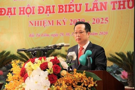 Đồng chí Trần Thế Cương đắc cử Bí thư Quận ủy Bắc Từ Liêm