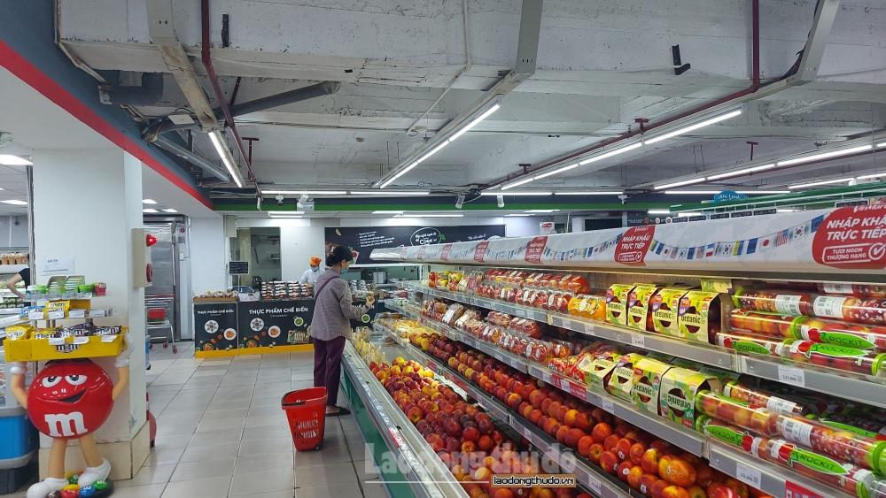 Phòng, chống dịch tại siêu thị, trung tâm thương mại: Nơi nghiêm túc, chỗ lơ là