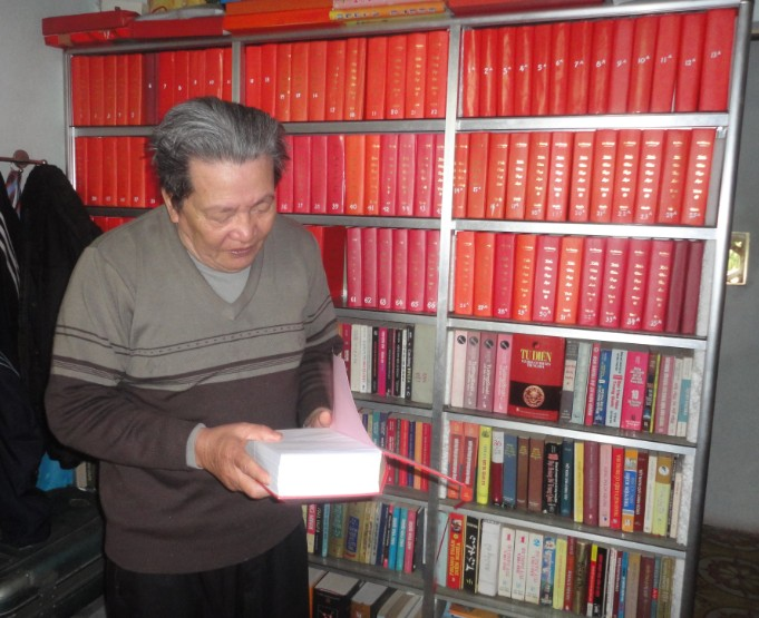 Người thương binh viết sách