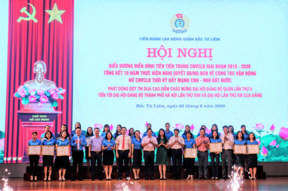 Liên đoàn Lao động quận Bắc Từ Liêm: Chú trọng công tác phát triển đoàn viên