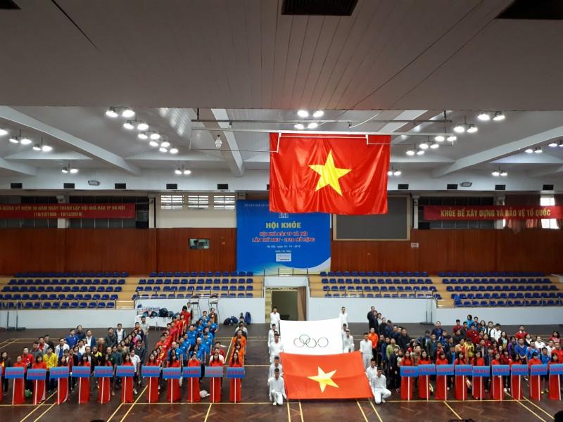 Khai mạc Hội khỏe Hội Nhà báo Thành phố Hà Nội lần thứ 24 mở rộng