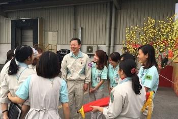Công đoàn Công ty Canon Việt Nam: Người lao động là ưu tiên hàng đầu