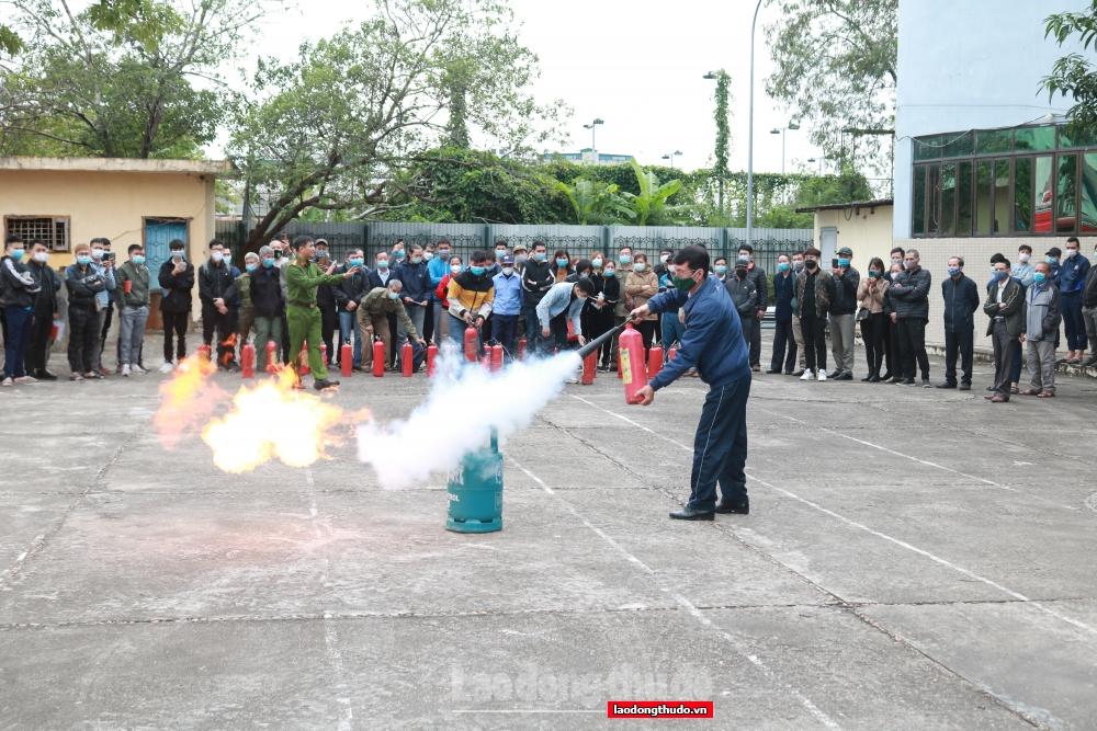 Tập huấn phòng cháy, chữa cháy cho cơ sở kinh doanh