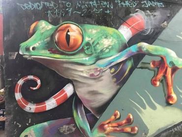 """""""Con đường Graffiti"""", nơi sống ảo cực ngầu cho giới trẻ Hà Nội"""
