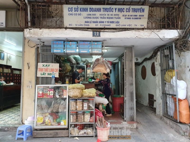 Phố Lãn ông: Thương hiệu chợ thuốc Đông y nức tiếng Hà Thành