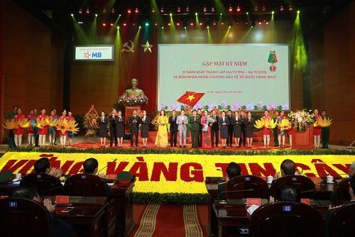 MBBank kỷ niệm 25 năm thành lập và đón nhận nhận Huân chương  Bảo vệ Tổ quốc Hạng Nhất
