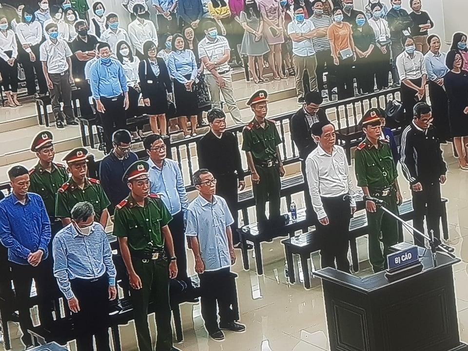 Xét xử đại án BIDV: Tuyên án đối với 12 bị cáo