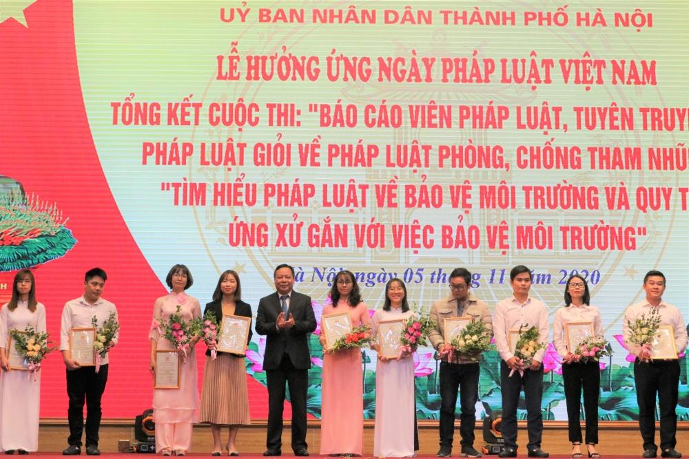 Hà Nội phát động lễ hưởng ứng Ngày Pháp luật Việt Nam