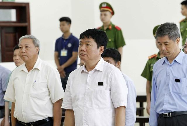 Ông Đinh La Thăng và Trịnh Xuân Thanh hầu tòa
