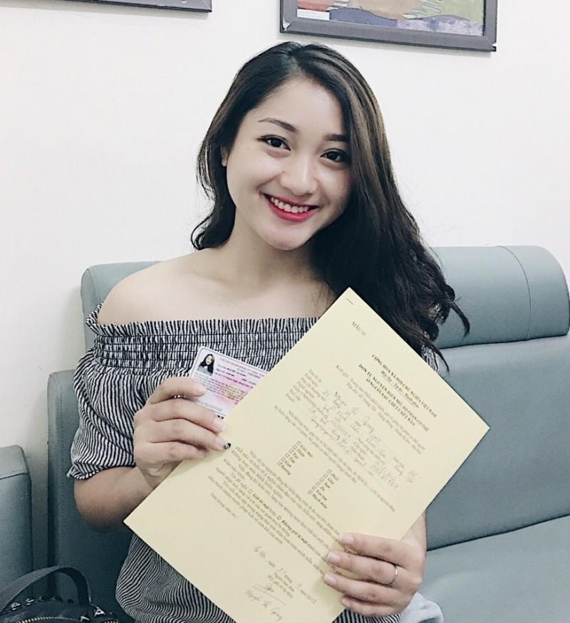 Hoa khôi  học viện Báo chí tuyên truyền đăng ký hiến tạng cứu người