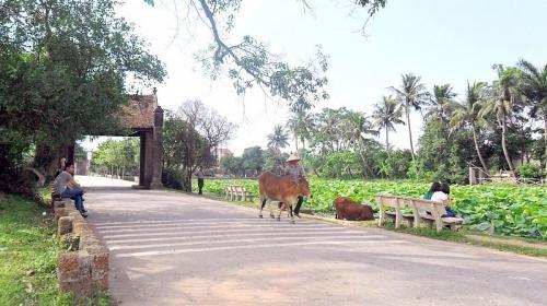 Tăng sức hấp dẫn cho làng cổ Đường Lâm