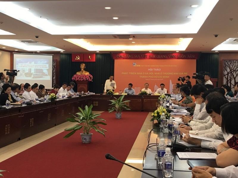 TP Hồ Chí Minh: Tạo cơ chế mới cho doanh nghiệp xây nhà ở xã hội