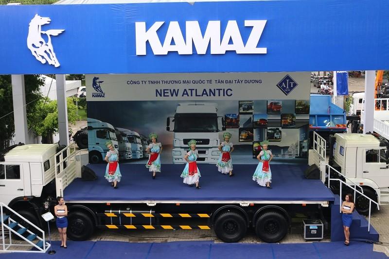 Kamaz trở lại thị trường ô tô tải Việt Nam