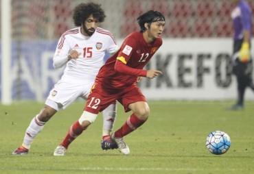 U23 Việt Nam thua ngược đầy đáng tiếc trước tuyển U23 UAE