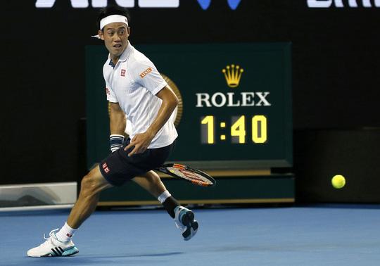 Nishikori sẵn sàng quyết đấu Djokovic
