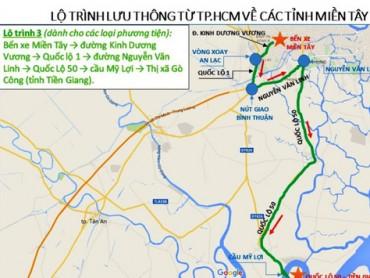 Từ TPHCM về quê ăn Tết, đi lộ trình nào để không kẹt xe?